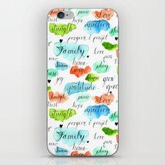 Family - Watercolor iPhone & iPod Skin