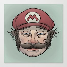 It'sa Me! Mario! Canvas Print