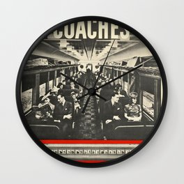 New Haven 01 - Vintage Poster Wall Clock