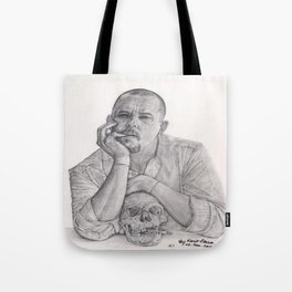 Alexander McQueen Savage Beauty Drawing Tote Bag
