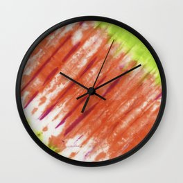 Pleated and Laced Wall Clock