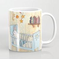 nursery Mugs featuring Nursery by Bluedogrose