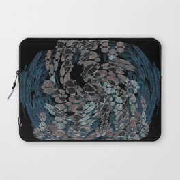 Elegant Stone Whirlwind Earth Elements Abstract Laptop Sleeve