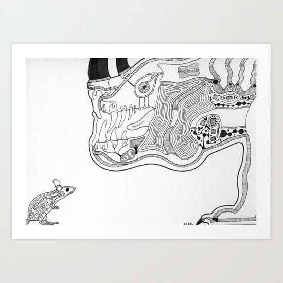 The Mouse Art Print