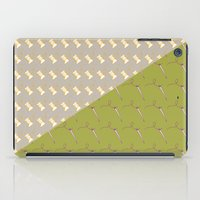 sewing iPad Cases featuring Sewing pattern by Ella Elron-Breitman