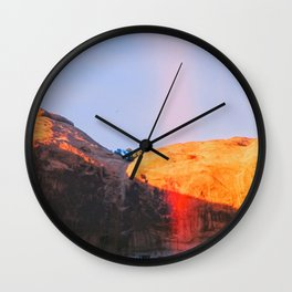DesertCliffs Wall Clock