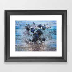 Sea of Love Framed Art Print