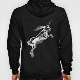 Unicorn Bunny - inverted Hoody