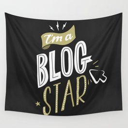 Blog Star Wall Tapestry