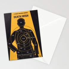 No740 My Death Wish minimal movie poster Stationery Cards
