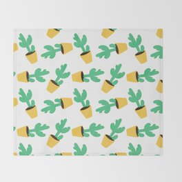 Cactus No. 3 Throw Blanket