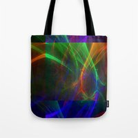lightning Tote Bags featuring lightning by donphil
