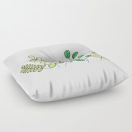 Foliage Floor Pillow