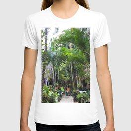 Dreamy Jungle Garden T-shirt