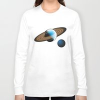 planets Long Sleeve T-shirts featuring Planets by Kaitlynn Marie