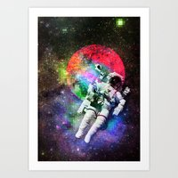 If You Need Me, I'll be in Space Art Print