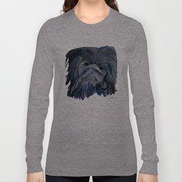 Pekingese Dog love... Long Sleeve T-shirt