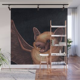 A Little Brown Bat Story Wall Mural