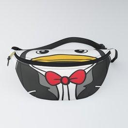 Penguin in a Tuxedo Fanny Pack