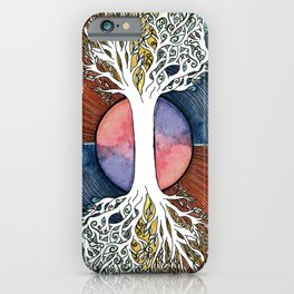 Astral Vibes Tarot Tree iPhone Case