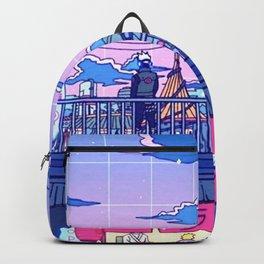 Ramen with Sensei poster- Aesthetic poster Backpack
