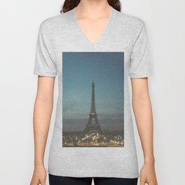 EIFFEL - TOWER - CITY OF PARIS Unisex V-Neck