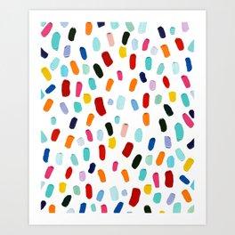 Good & Plenty Polka Daubs Art Print
