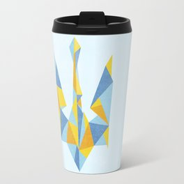 Ukraine Geometry Travel Mug