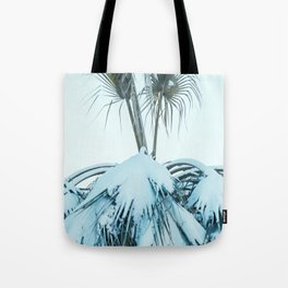 Palm and Snow Tote Bag