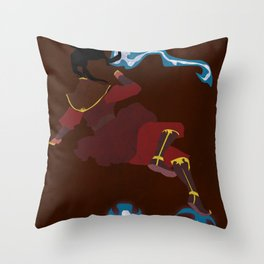 Azula Throw Pillow