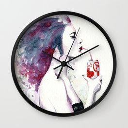 You loved Cola after sex Wall Clock