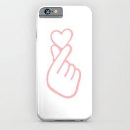 HEART HAND iPhone Case