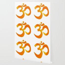 Orange Om Wallpaper