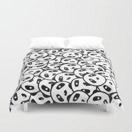 Pandamonium (Patterns Please Series #2) Duvet Cover