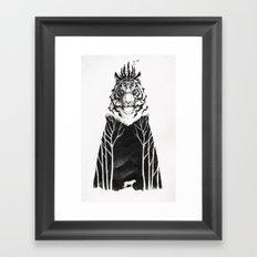 The Siberian King Framed Art Print