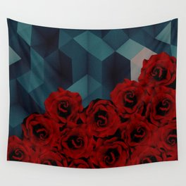 C13D Everything rosy 4 Wall Tapestry