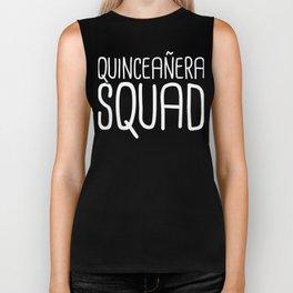Quinceanera Squad Biker Tank