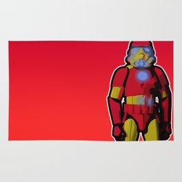 iron trooper Rug