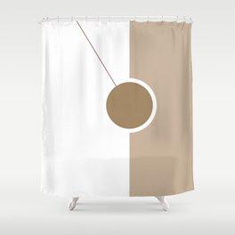 Pendulum #geometrical #art Shower Curtain