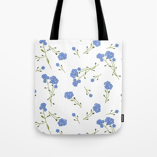 Forget me not II Tote Bag