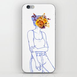 Wallflower (III) iPhone Skin