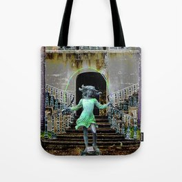 Ghost in a Madeira Mansion. Tote Bag