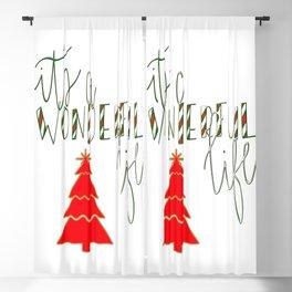 Wonderful Life Blackout Curtain
