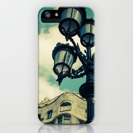 Aqua Lights iPhone Case