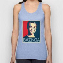 Bazinga Poster Unisex Tank Top