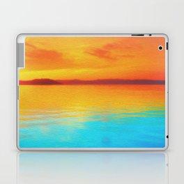 sunset beachh Laptop & iPad Skin