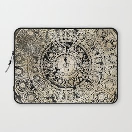 BLACK & GOLD MANDALA ARMARRI OKRE Laptop Sleeve