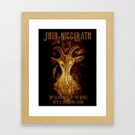 Niggurath Framed Art Print