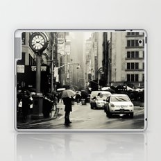 New York City - 5th Avenue in the Rain Laptop & iPad Skin