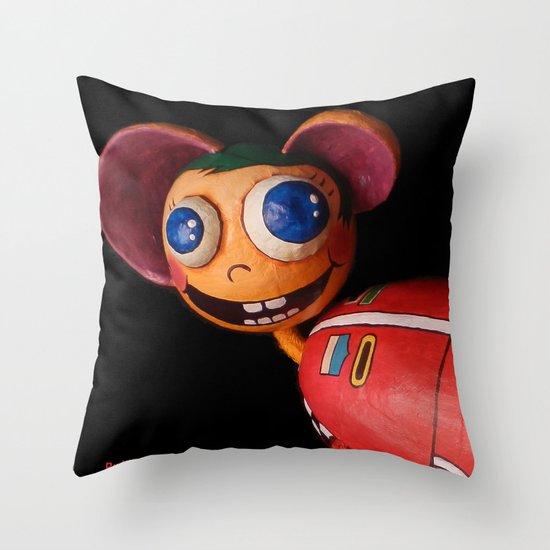 Rudi Favolas Throw Pillow